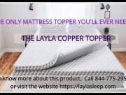 Best Quality Copper Topper By Layla Sleep