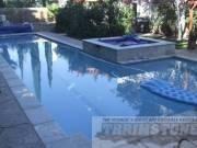 travertine pool coping