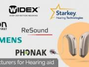 List of best manufacturer of hearing aids