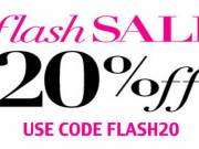 Flash Sale: 20% Off On All Orders $100 & Above at Scents & Sprays