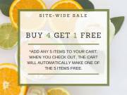 Buy 4 Get 1 Free At Scents & Sprays