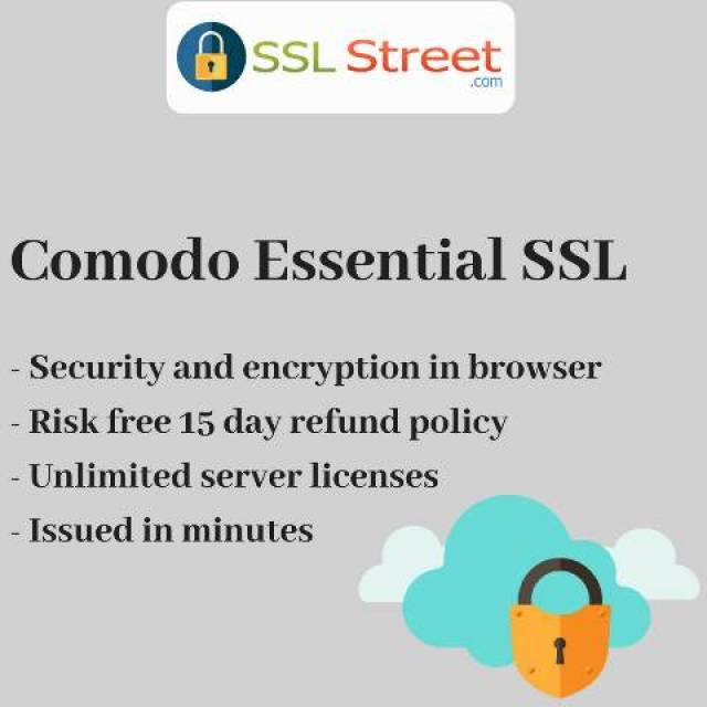 Comodo Essential Ssl Certificates For Website Security Clearwater