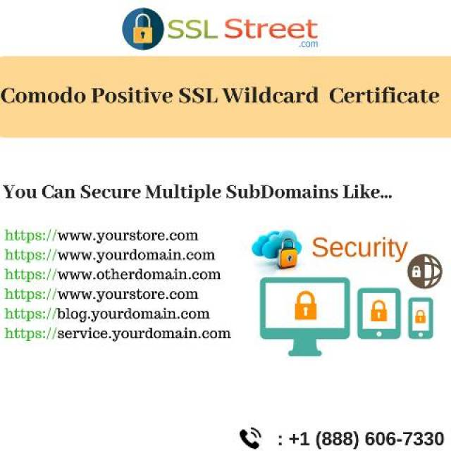 Comodo Positive Ssl Wildcard Certificate In Usa Thesslstreet