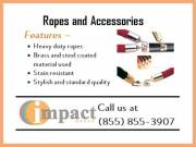 Heavy Duty Ropes & Accessories | Custom Size Ropes |  Brass & Steel Coated Ropes