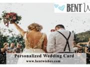 Personalized Wedding Card