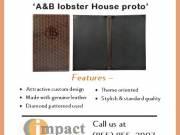 Genuine Leather Menu Covers by Impact Menus