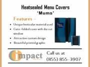 Best Heatsealed Menu Covers By Impact Menus