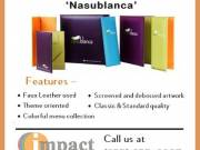 Faux Leather Menu Cover Collections By Impact Menus