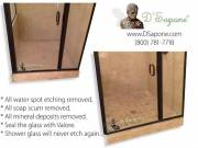 Professional Shower Glass Restoration Service in San Diego, CA | D'Sapone