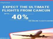 Expect the ultimate cheap flights from Cancun