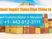 import furniture from china to usa