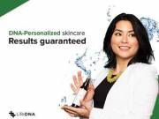Guaranteed Skincare tailored to your DNA