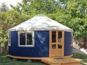24 ft Used yurt for sale