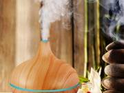 Buy Wood Essential Oil Diffuser Online - Blissfully Serene