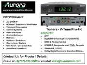 V-Tune Pro 4K Tuners | Aurora Multimedia