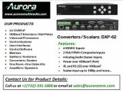 Best Converter / Scalars Model | DXP- 62 | Aurora Multimedia