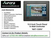 13.3 Inch Touch Panel in-wall Controller | NXT 1330V | Aurora Multimedia