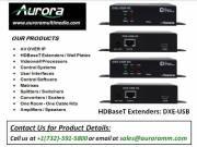 Best HDBaseT Extenders | DXE - USB | Aurora Multimedia