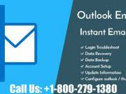 Get Instant Solution with Outlook Customer Support Number +1-800-279-1380