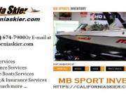 Best Inventories of MB Sports Boats in USA | California Skier