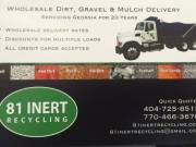 Gravel & Dirt Wholesale Delivery / 404-725-8515