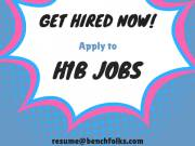 Apply to H1b transfer Employment for various positions