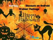 Halloween jackpot Offer get BlurSpy Android Spy Software on 70% Discount.