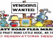 pratt road flea market needs vendors