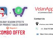 Christmas Offer | Special Combo Offer | Megento 2 Holiday Seasonal Effects - Velan Apps