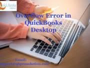 Quick and Effective Ways to solve Overflow Error in QuickBooks Desktop