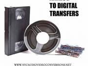 TRANSFER VHS/DVD/CASSETTE/DV/BETA SP/35MM FILM to DIGITAL