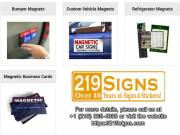 Best Car or Truck Magnet signs | 219signs.com