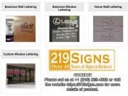 Best Custom Vinyl Banners| Vinyl Lettering | 219signs.com