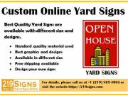 Best Quality Customised Yard Signs | 219signs.com