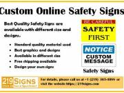 Best Quality Customized Safety Signs | 219signs.com