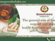 Home grown Natural herbal medicine