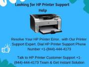 Contact For HP Printer Support