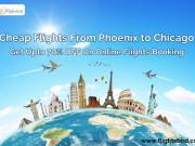 cheap flights from Phoenix to Chicago