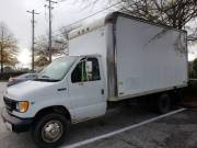 1998 Ford E350 White Box Truck