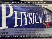 Best Custom Vinyl Banners | 219signs.com