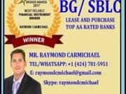 BG/SBLC, Loan, Monetizing Available