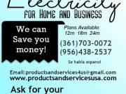 Electricidad para casa y Negocio
