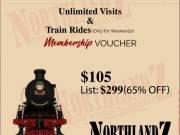 Northlandz - Membership voucher