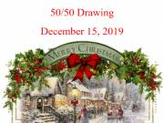 50/50 CHRISTMAS CASH - DONATE by 12-15-19