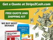 Turn Your Unused Test Strips 2 CASH