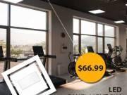 Use Dimmable 2x4 LED Panel Lights to make additional energy savings