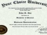 Fake Diploma Certificate | Buy Degree Online
