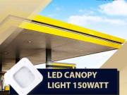 Use Radiation Free 150W LED canopy lights to have safe lighting