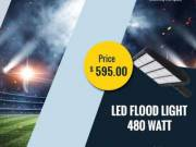 Get Great Offer on LED Flood Light 480W at Independence Day!