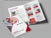 Half-Fold Brochures $100 | Bulk 5000, As low As 2¢ Piece | RegaloPrint.Com